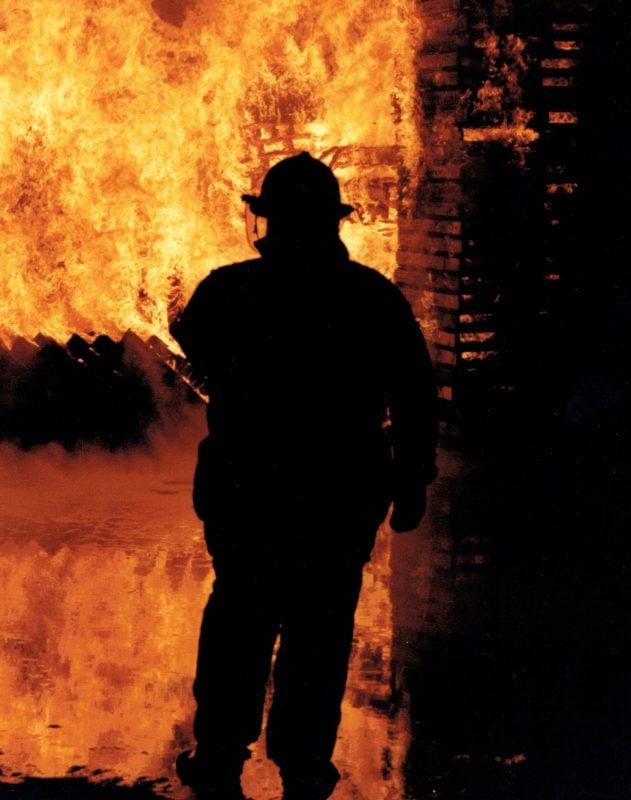 Tulare County Fire Fighter